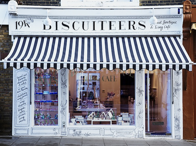 Biscuiteers biscuit boutique Notting Hill London
