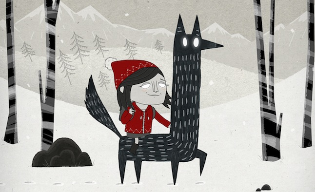 Holly and the Wolf Marzipan Reindeer