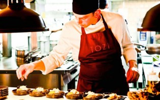 Some of Venetia's finest being prepared. All photos courtesy of Tozi Restaurant.