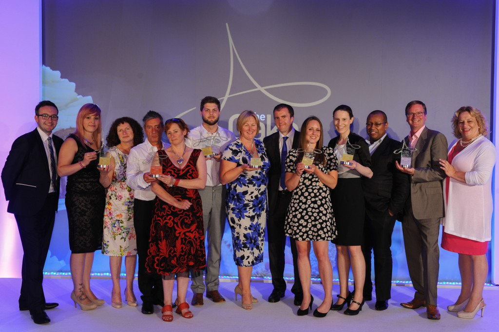 All the winners of The Cake  Awards