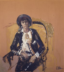 Coco Chanel Seated