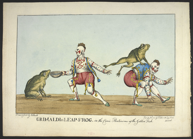 William Heath Grimaldi's leap frog © British Library Board