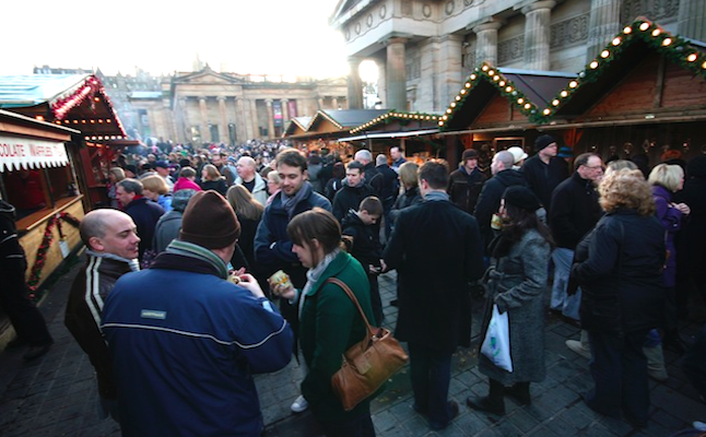 Wonderful Christmas Market in Edinburgh! Credit@EwanMcIntoshviaflickr.com