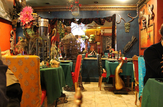 The inside of the insect serving Archipelago restaurant.