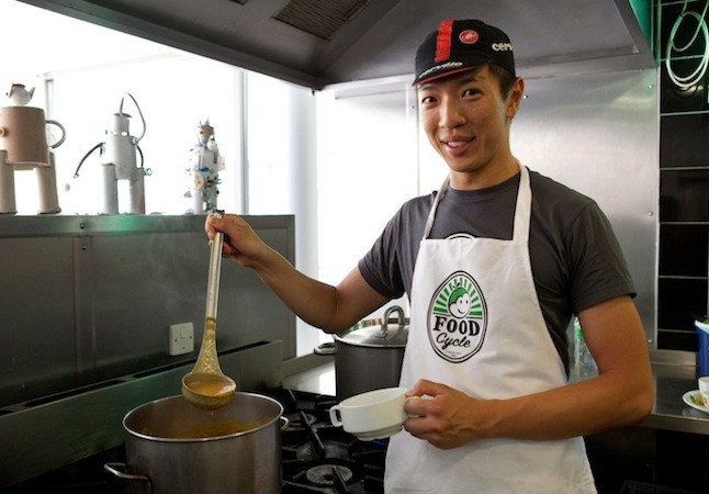 Reclaiming food has become a passion for many volunteers. Credit @ Food Cycle