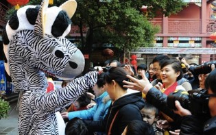 Celebrating the Year of the Horse in China. Pic credit@enghunan.gov.cn