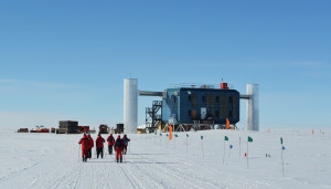 IceCube Neutrino Observatory Credit @ Peter Rejcek, National Science Foundation