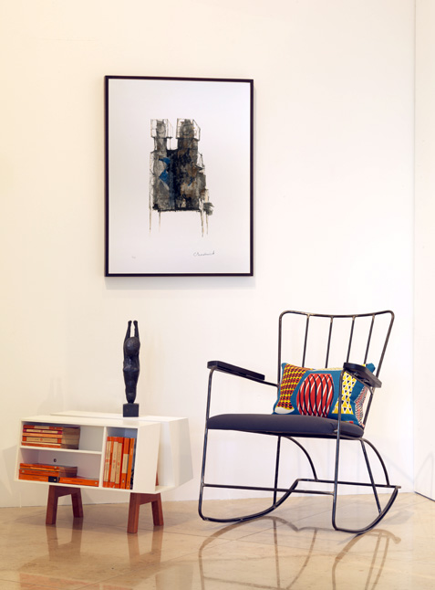 Courtesy Of Pangolin London With Amelia McNeil/Carter Wells/Race Furniture/Sanderson  Ltd Featuring: Reg Butler, Study For Fetish, 1959, Bronze; ...