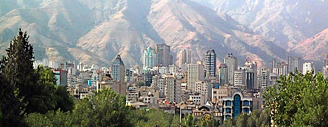 Tehran is expanding. Credit@TehranTouristBoardwikitravelcreativecommons