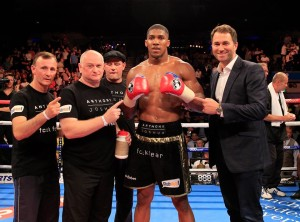 Anthony Joshua is undefeated in seven bouts. credit@Anthony Joshua via facebook