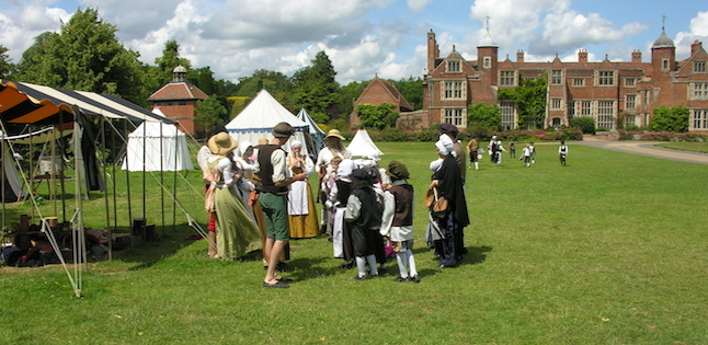 Lets lots to do at Kentwell Hall! Take a visit!