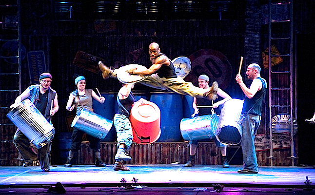 Stomp is a powerful and fun performance! credit@Steve McNicholas