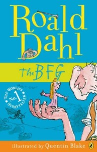 The BFG by Roald Dahl Credit@Puffin books