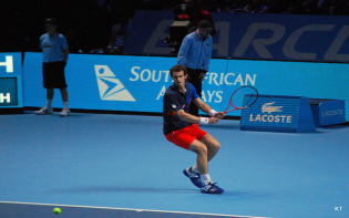 Andy Murray in ATP World Tour FInals. Credit@wikipediaKT