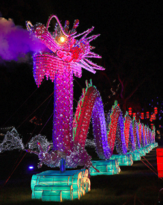 The Festival of Light takes place throughout December.  Credit: bonemj