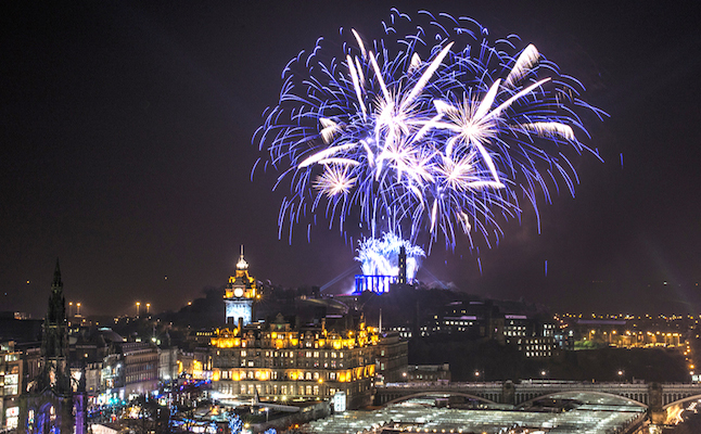Hogmanay in Edinburgh. Credit@Grant Ritchie