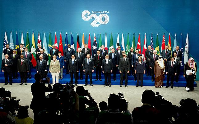 Global political and buisness leaders unite for Summit talks. Credit@ Palazzo Chigi via Flickr.com