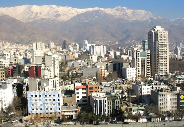 Northern Tehran. Credit@wikimedia