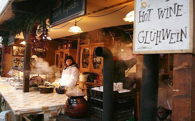 Steam from hot food and drink is common place as evenign arrives in Budapest. Credit@ zsoolt via Flickr.com