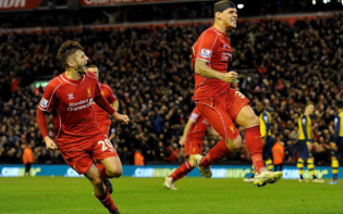 A determined Martin Skrtel headed Liverpool to a deserved point. credit@Liverpool FC via Twitter