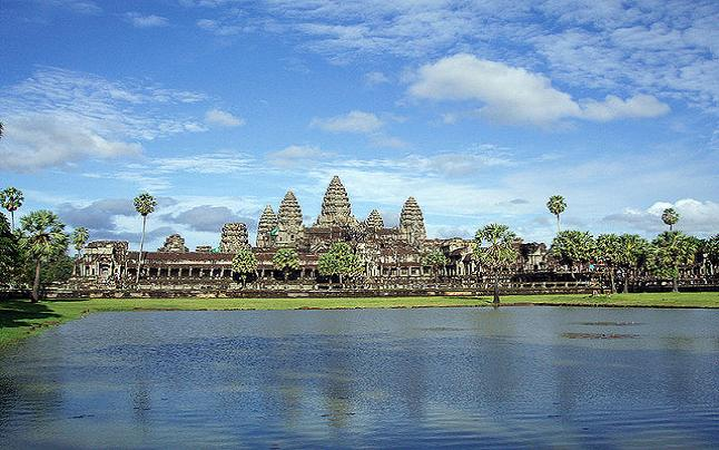 Angkor Wat, a shade of its former glory. Credit@ melenama