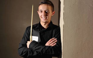 Joe O'Connor enjoying his time on the snooker world tour (credit@willjohnston via willjohnstonphotography.com)