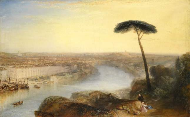 Turner Rome, View from Mount Aventine. Credit@ Sotherby's (2)