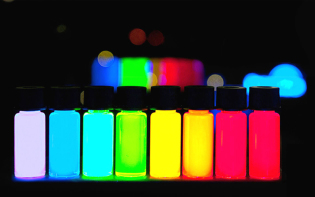Quantum Dots being produced at PlasmaChem at a kg scale. Credit@Antipoff