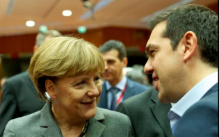 German Chancellor Angela Merkel (left) and Greek Prime Minister Alexis Tsipras (right) are to play key roles in the negotiations between Greece and its creditors. Credit@EuropeanUnion
