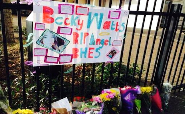 Further tributes are around the city. Credit@BeckyWatts2@Facebook.com