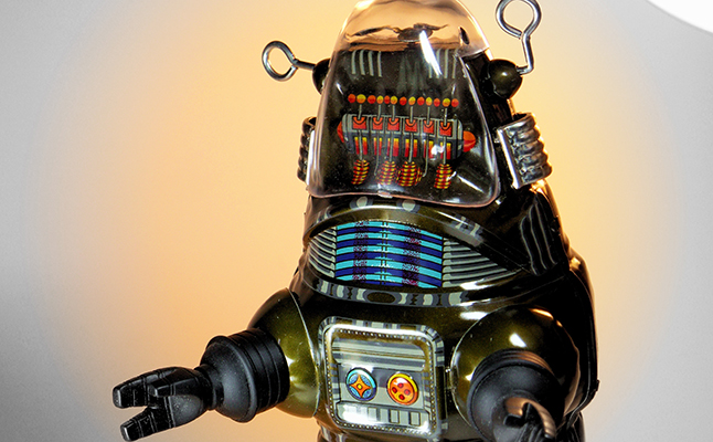 Robby the Robot. An AI-type robot as depicted in the 1956 film, Forbidden Planet. Credit@DJShin