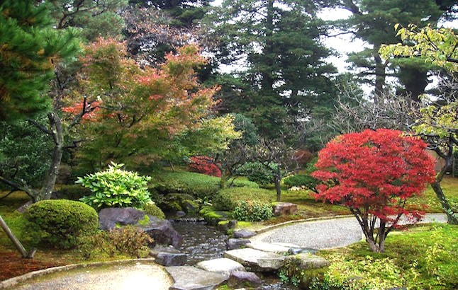 The gardens of Japan capture nature's beauty. credit@wikimedia