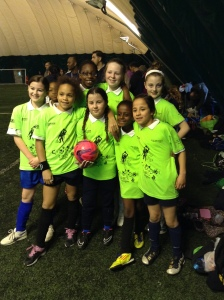 Our brilliant girls football team!