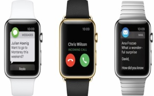 Apple Watch, 3Up-Features. Credit@ Apple