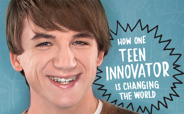 Jack Andraka's memoir is more than about science, it's about finding the strength to persevere and pursue dreams in the face of resistance. Credit@Molly Slight