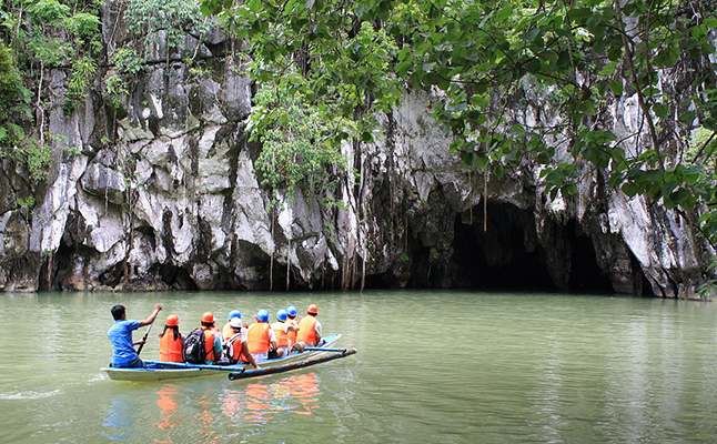The Puerto Princesa Underground River, Philippines. Credit@Mike Gonzalez