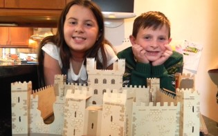 Build a Knight's Castle is what my sister and I did!