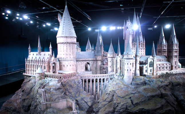 Hogwarts castle model. Credit@WarnerBros.
