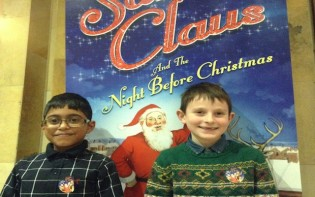 Best of all and my friend Ryan and I attended this wonderful Christmas play!