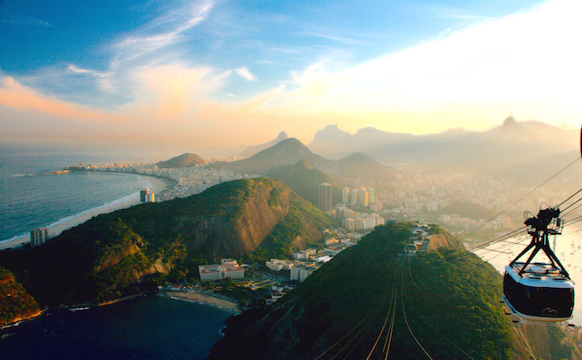 From the peak of Sugarloaf Mountain.Credit@christianhaugen.flickr.com