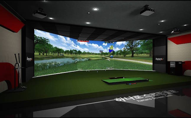 Golf simulator a form of biofeedback.Credit@hanarosg.en.ecplaza.net