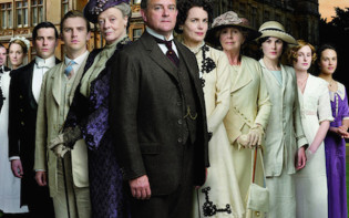 The cast of Downton Abbey.Credit@Flickr