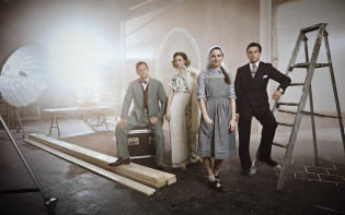 The Sound of Music Live on ITV.Alexander Armstrong, Katherine Kelly,  Kara Tointon and Julian Ovenden.Credit@ITV