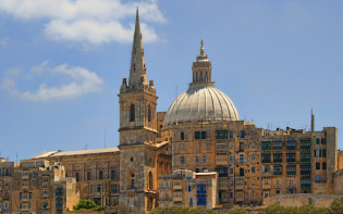 St. Pauls cathedral, Malta. credit@andrewprice.flickr.com