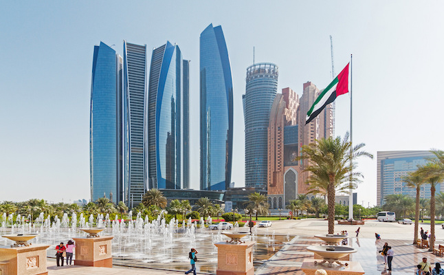 Abu Dhabi's cityscape.Credit@andrediogomoecke.flickr.com