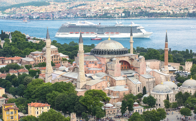 Cruise ship in Istanbul.Credit@regalprincesspressimages.com