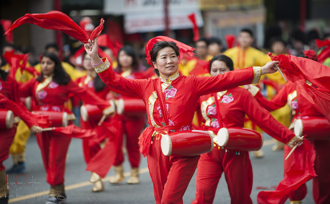 Chinese New Year parade.Credit@kennetleung.flickr.com
