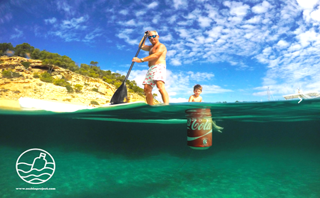The Seabin project aims to clear the ocean of pollution and debris.Credit@Seabin