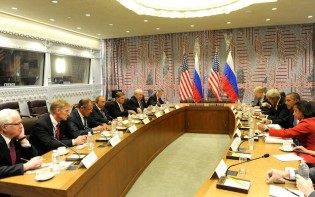Russian and U.S. representatives meet to discuss the situation in Syria on 29 September 2015.Credit@Wiki