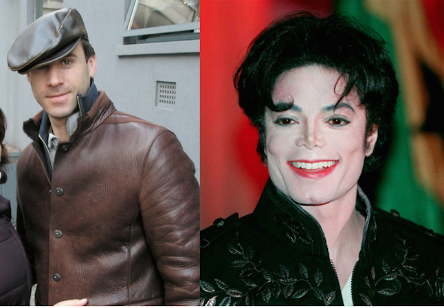 Joseph Fiennes in Sky Arts role playing iconic artist Michael Jackson.Credi@Wiki&Image.net
